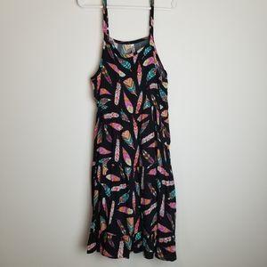 Fabkids XL Boho Feather Dress